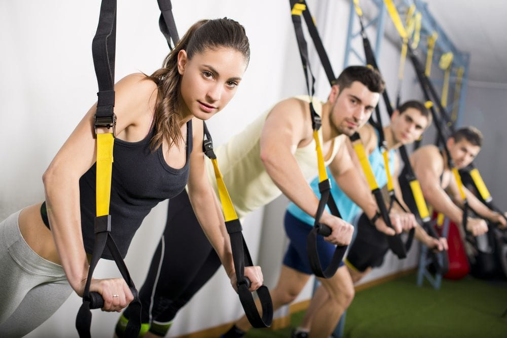 Ćwicząc na trx można schudnąć